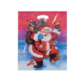 Grifflochtaschen Father Christmas 38x45+41mm / 45µ Produktbild