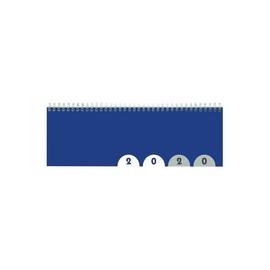 Querkalender 2020 32x11cm 1Woche/2Seiten blau Wire-O-Spiralbindung Zettler 176-0015 Produktbild