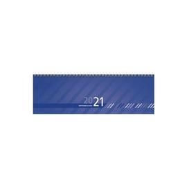 Querkalender 2021 32x11cm 1Woche/2Seiten blau Wire-O-Spiralbindung Zettler 176-0015 Produktbild