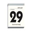 Tagesabreißkalender 2021 hoch 10x14,5cm 1Tag/1Seite weiß Zettler 313-0000 Produktbild