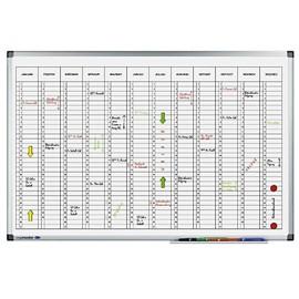 Jahresplaner PREMIUM 60x90cm 1Jahr/1Seite magnetisch Legamaster 7-412000 Produktbild