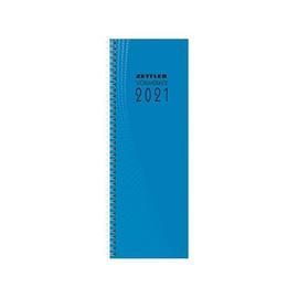Wochenvormerkbuch 2021 10,5x29,5cm 1Woche/1Seite farbig sortiert Wire-O-Spiralbindung Zettler 718-0001 Produktbild