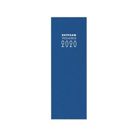 Tagebuch 2020 10,5x29,5cm 2Tage/1Seite farbig sortiert Leinen Zettler 801-0001 Produktbild