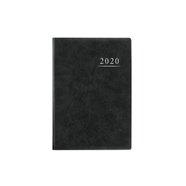 Terminbuch 2020 A4 21x29,5mm 1Tag/1Seite anthrazit wattiert Zettler 886-0021 Produktbild