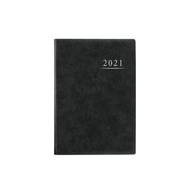 Terminbuch 2022 A4 21x29,5mm 1Tag/1Seite anthrazit wattiert Zettler 886-0021 Produktbild