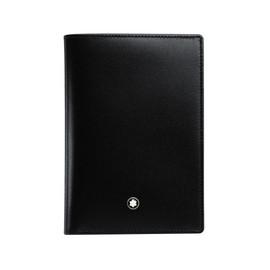 Brieftasche Meisterstück schwarz Leder 4cc mit Banknotenfach Montblanc 11987 Produktbild