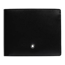 Brieftasche Meisterstück schwarz Leder 6cc Montblanc 5525 Produktbild