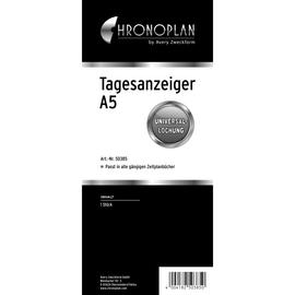 Tagesanzeiger für Organizer A5 100x225mm Chronoplan 50385 Produktbild