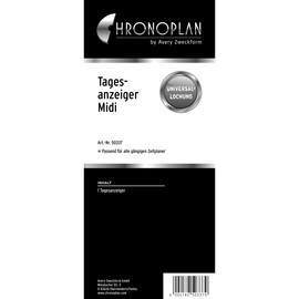 Tagesanzeiger für Organizer Midi 96x172mm Chronoplan 50337 Produktbild