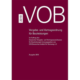 VOB Gesamtausgabe 2019 Book Produktbild