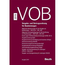 VOB Zusatzband 2019 PB Produktbild